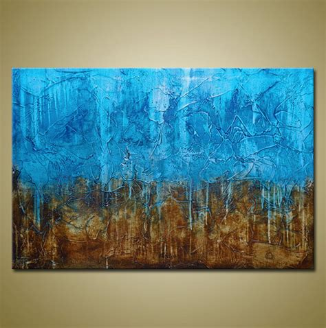 acrylic textured paintings original abstract painting heavily textured acrylic by