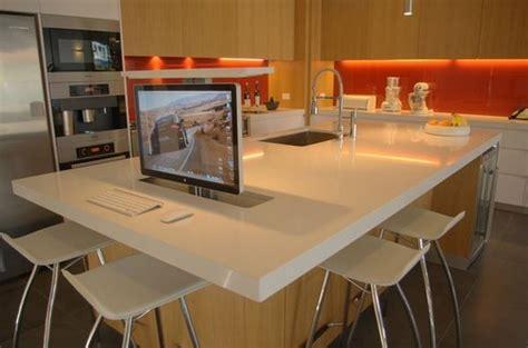 Kitchen Island Office Desk 10 Ways To Rev Your Kitchen Island