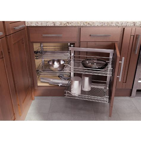 Kitchen Cabinet System Kitchen Cabinet Organizers Wari Corner Base Cabinet Blind Corner Swing Out And Slide System