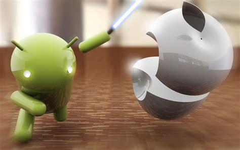 Android Vs Apple Full Wallpapers HD / Desktop and Mobile
