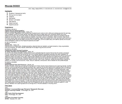Resume Description Past Or Present Tense Patient Service Representative Resume Template Resume Builder