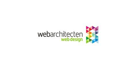 web design logo on right side webarchitecten sub branding