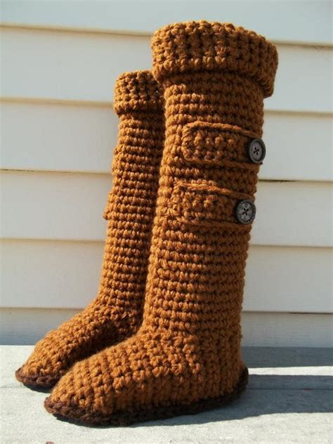 crochet boot slippers free patterns high knee crochet slipper boots patterns to keep your