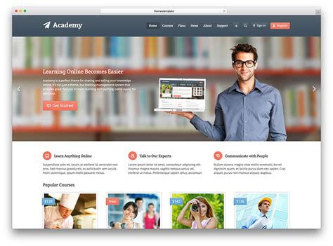 wordpress layout manager top 15 learning management system lms wordpress themes