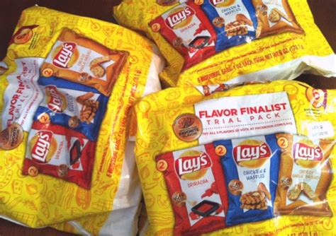 All Of These Bags Could Be Yours by Win A Snack Pack Of Lay S Quot Do Us A Flavor Quot Potato Chips