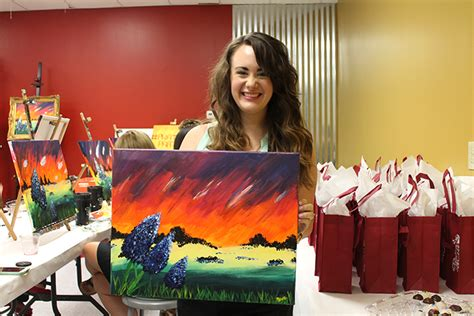 The Thing About Painting With A Twist The Woodlands