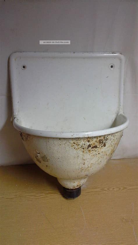 waschbecken shabby chic antikes emaille waschbecken gu 223 eisen eisen garten deko