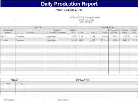 Bakery Production Schedule Template daily production report template sle bakery