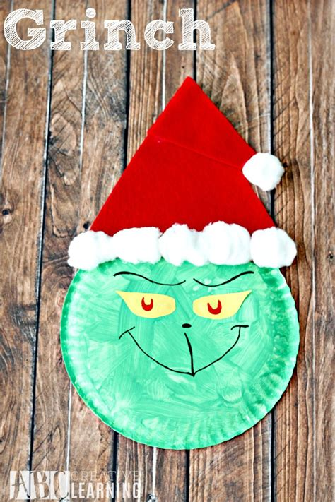 grinch paper plate craft paper plate crafts xmas crafts childrens christmas crafts