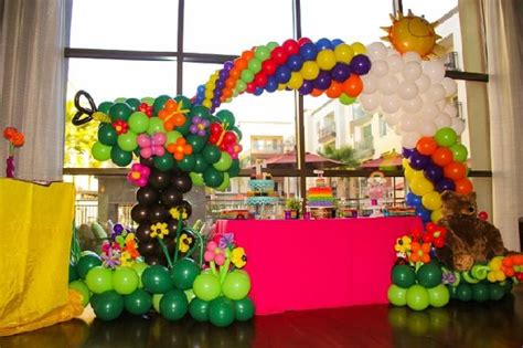 97 Best Images About Sky Arch On Pinterest Balloon Arch Rainbow Themed Centerpieces