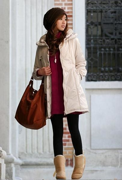 Woman In Winter Clothing | winter clothes for women and review fashion gossip