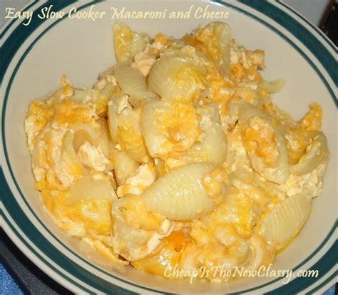 easy macaroni cheese easy slow cooker macaroni and cheese recipe dishmaps