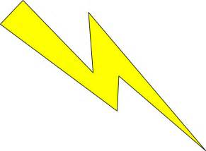 Lighting Clipart Lightning Yellow With Black Outline Clip At Clker