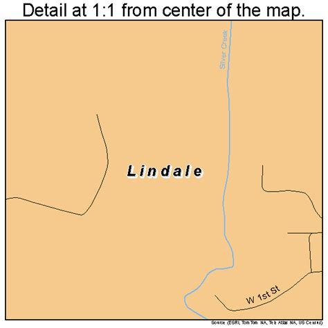 lindale map 1346580