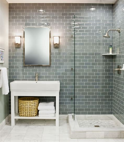 glass subway tile bathroom ideas the 25 best glass tile bathroom ideas on pinterest subway