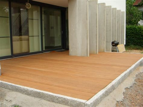 Holz überdachung Terrasse by Balkon Terrasse Holz Im Garten Holzbau Partner Gmbh