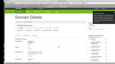 godaddy tutorial web hosting how to setup dns in whm cpanel on godaddy youtube