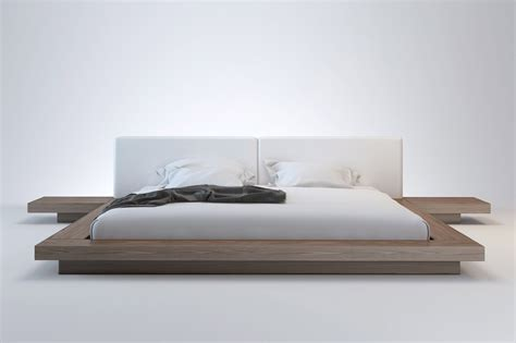 Worth Modern Platform Bed Modloft Modern Furniture Beds