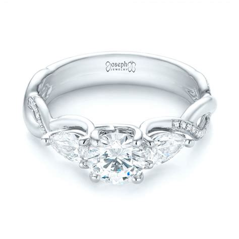 custom three engagement ring 103503