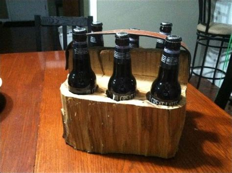 diy wooden six pack carrier others