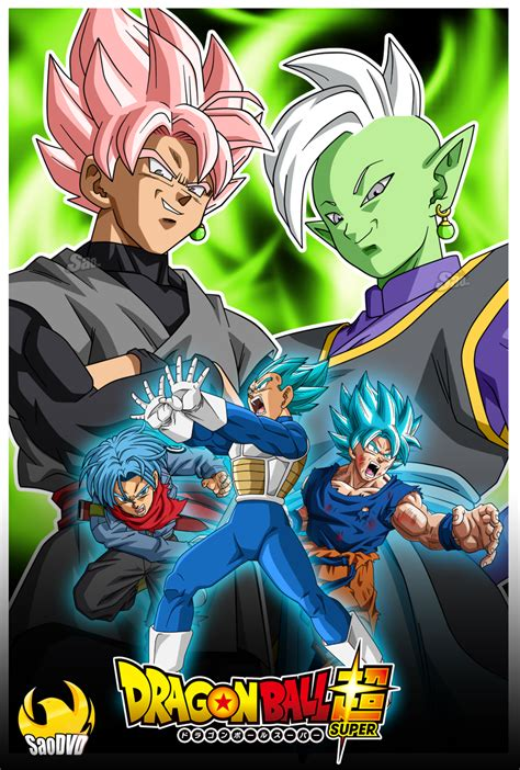 Black Saga saga of black and zamasu poster by saodvd on deviantart