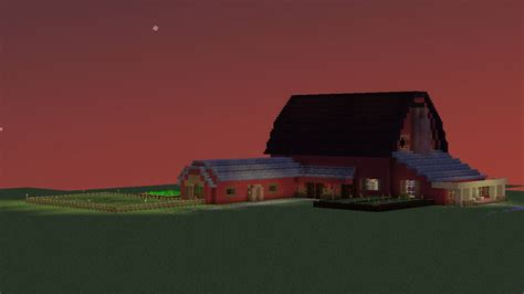 How To Build A Pig Barn Barn House Minecraft Project
