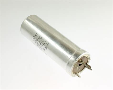 large can type aluminum electrolytic capacitors 41 39103 1 nichicon capacitor 1 000uf 200v aluminum electrolytic large can twist lock 2020062385