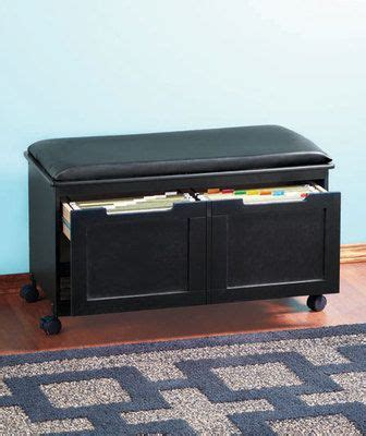 storage bench file cabinet details about walnut black cushion file cabinet bench
