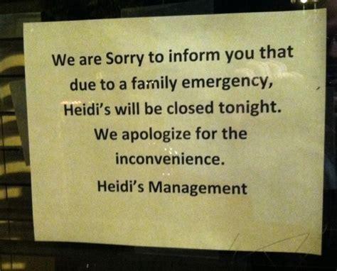 Closing Restaurant Letter To Customers heidi s restaurant in minneapolis closing immediately