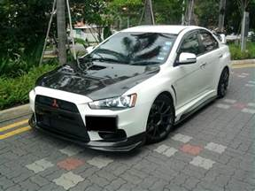 Mitsubishi Lancer Evo Modified Modified Cars Mitsubishi Evo X Custom Kit