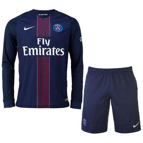 Jersey Home Psg 16 17 psg home sleeve jersey kit shirt psg