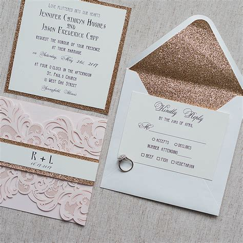 Simple Unique Wedding Invitations by Wedding Invitations Make Your Own Wedding Invitations