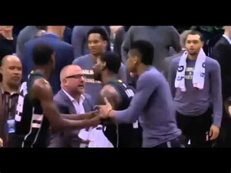 Oj Goes Carrazy by Bucks O J Mayo Ejected Vs Timberwolves Goes