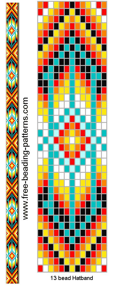 bead loom patterns on loom beading peyote