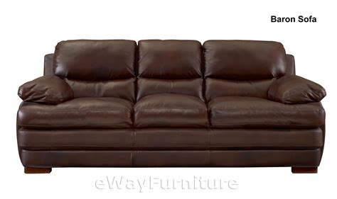 baron sofa baron top grain leather loveseat