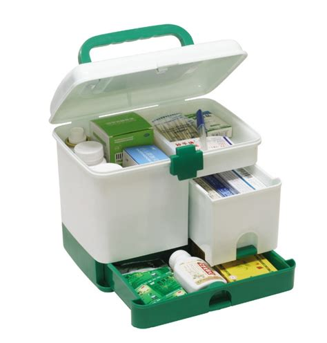 Portable Medicine Storage Box multilayer family kit emergency care medicine