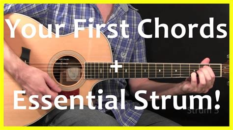 guitar tutorial videos youtube guitar lessons your first chords and strum youtube