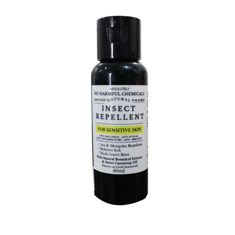heaven on earth botanicals natural insect repellent 50ml