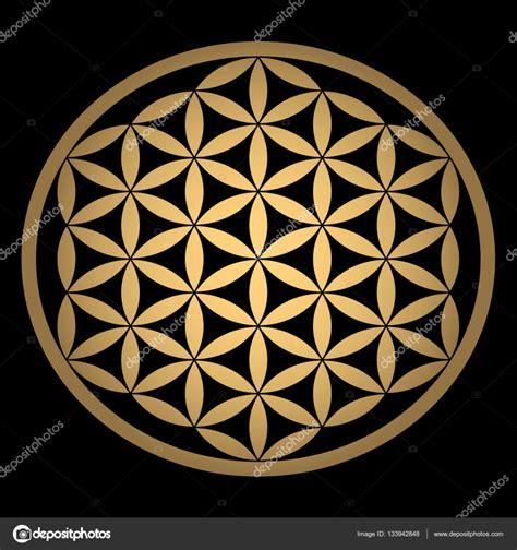 fiore della vita geometria sacra geometria sacra antico simbolo dell oro fiore della