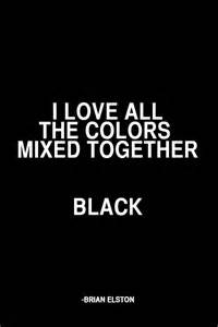 black is the color of my true hair that voice inside my sequel on