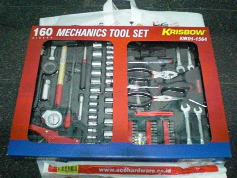 Cover Mobil Krisbow Di Ace Hardware krisbow tool set si bengkel portable chazzy13