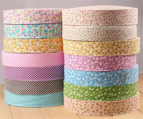 Patchwork Binding - 3 5cm cotton unfolded gingham check bias binding