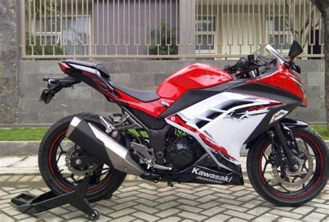 A Lu Sepeda Lengkap Depan Putih Belakang Merah Bonus Batre jual kawasaki 250 cc abs jual motor kawasaki sidoarjo
