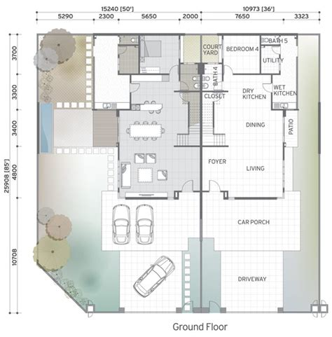 cluster house plans cluster home floor plans home plan