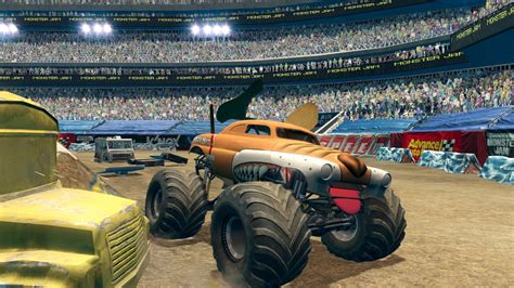 monster trucks jam games monster jam path of destruction gamespot