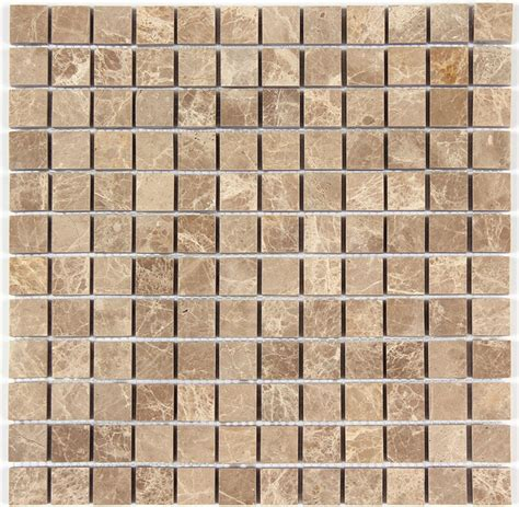 1x1 ceiling tiles light emperador marble 1x1 polished square mosaic