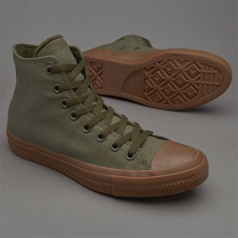 Sepatu Converse All Chuck High sepatu sneakers converse chuck all ii hi herbal