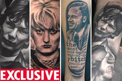 tattoo gallery on hindley serial killer tattoos of myra hindley and night stalker