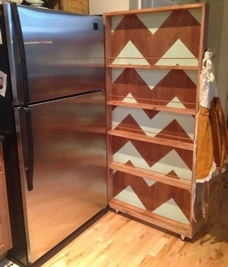 Rolling Pantry Rack by How To Build A Rolling Kitchen Pantry Rack