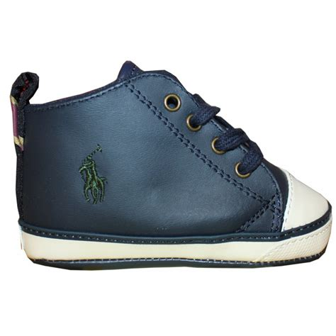 ralph baby shoes ralph navy baby shoes